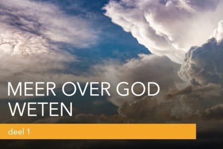meer over God weten studie